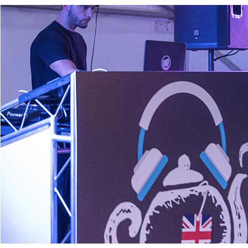 DJ FesTeaVal Distressed effect 500x500